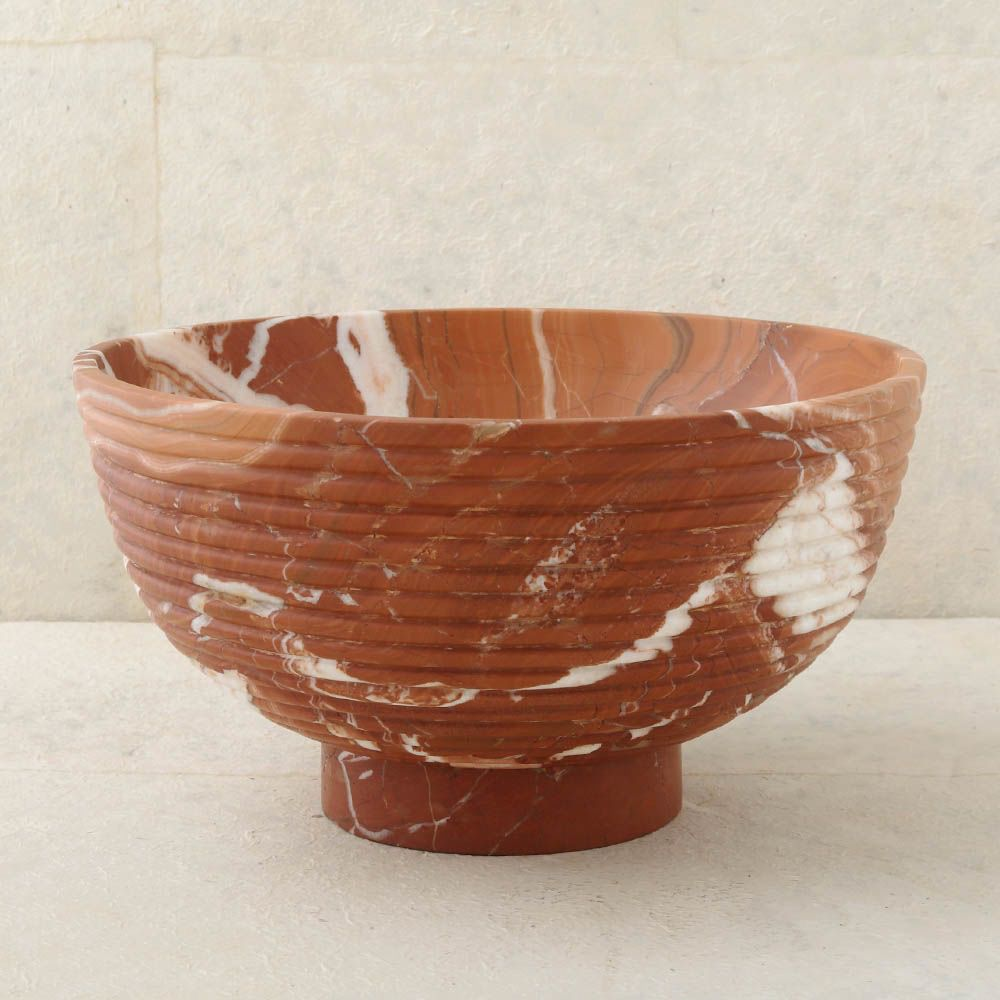 "Kelly Wearstler Kelly Wearstler - Laurel Champagne Bowl - Russet - 10""H x 18""Dia"