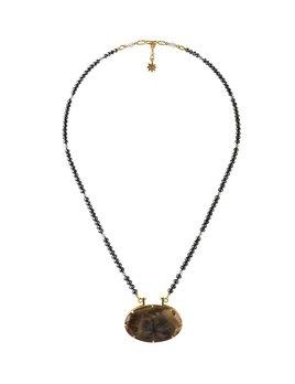 Lisa Black Jewellery - Black Diamond Star Sapphire Necklace
