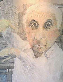 Jacqueline Tiepermann - Archibald Entry 2017 - 'The Magician' (Harry Triguboff)