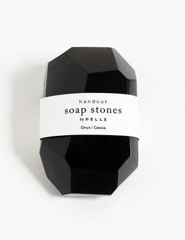 the collected co Pelle Handcut Soap Stones - Cassia - Onyx - 6oz