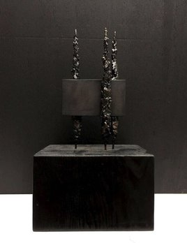 Thomas Bucich - Cast Bronze Sculpture - Denied Landscape - 35x20x18cm