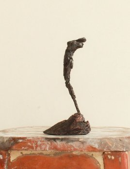 Thomas Bucich - Dance Study Cast Bronze Sculpture - Unique Cast Bronze on Wood and Copper Base - 23cm H x 11cm W x 7cm D - Australia