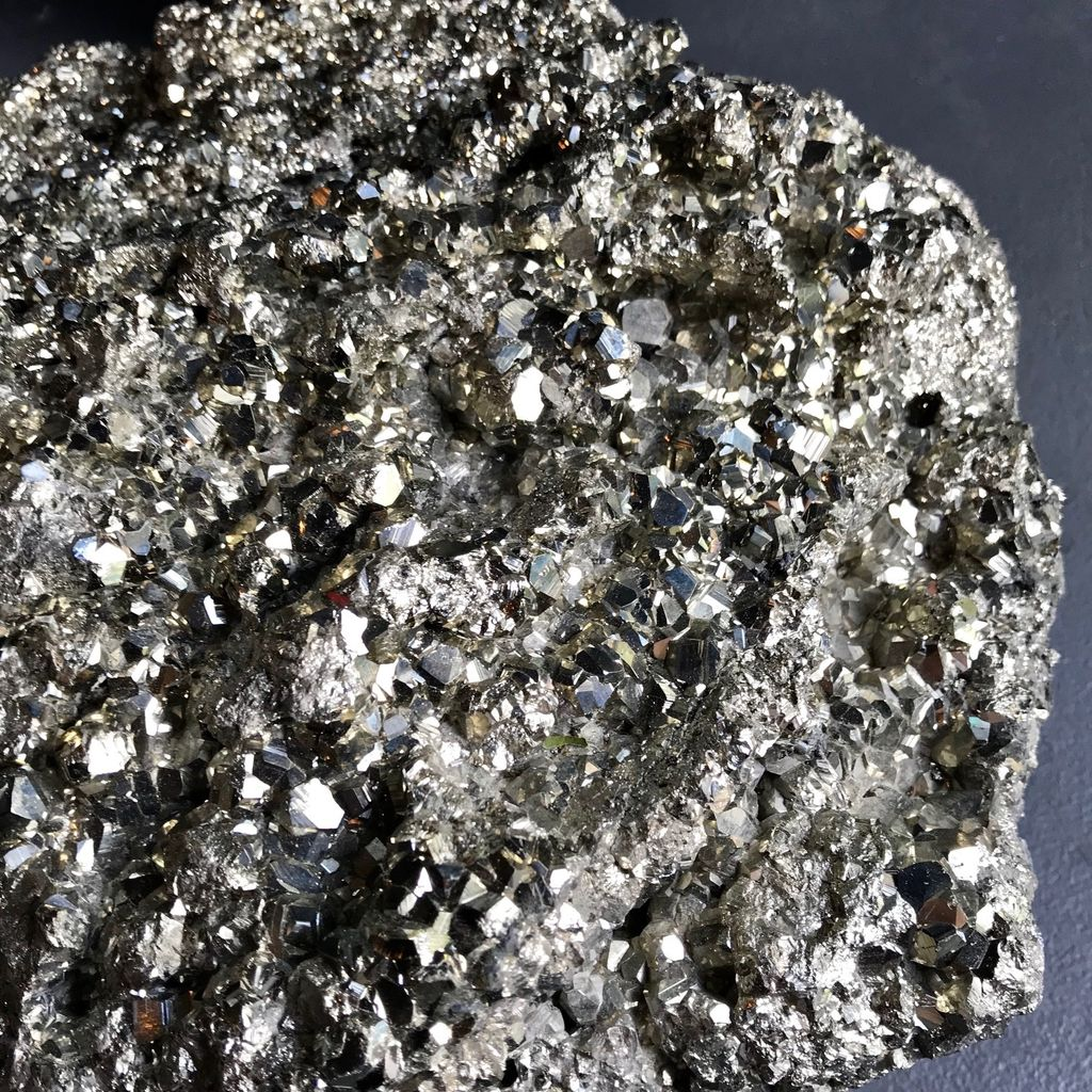 Massive Pyrite Cluster - L38xW32xH20cm - Very Heavy - Approx 15-20kg