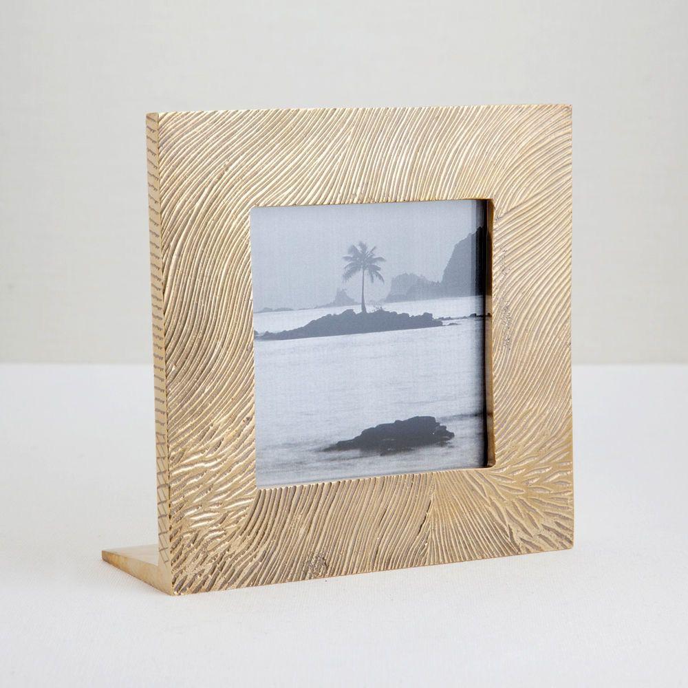 """Kelly Wearstler Kelly Wearstler - Lustre Frame - one size - 6.5""""L X 2.5""""W X 6.5""""H, photograph size: 4"""" x 4"""""""
