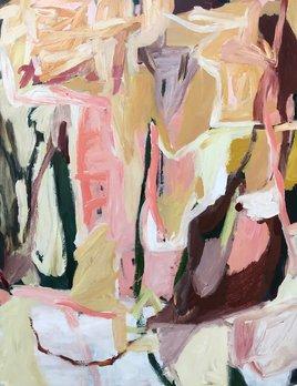 Daydreaming - Antonia Mrljak - Acrylic on Board - 90x120cm