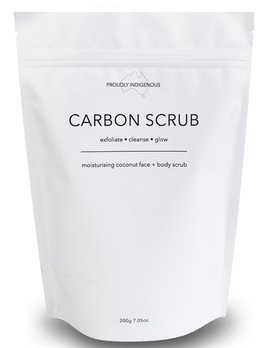 Carbon Scrub Carbon Scrub - Moisturising Coconut Face and Body Scrub 200g - Australian Made