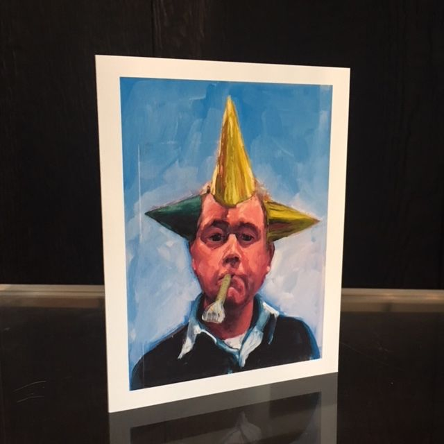 James King - Handmade Greeting Cards - The Party's Over