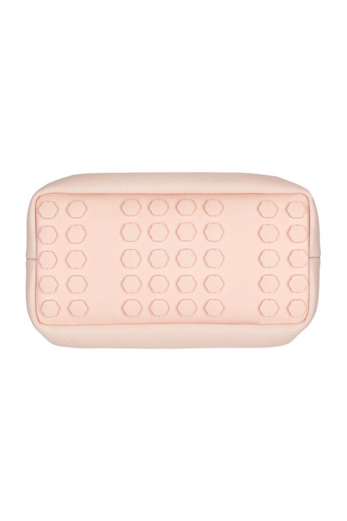 PAQME PAQME Cosmetic Case with Silicone Base - Leather - Pink