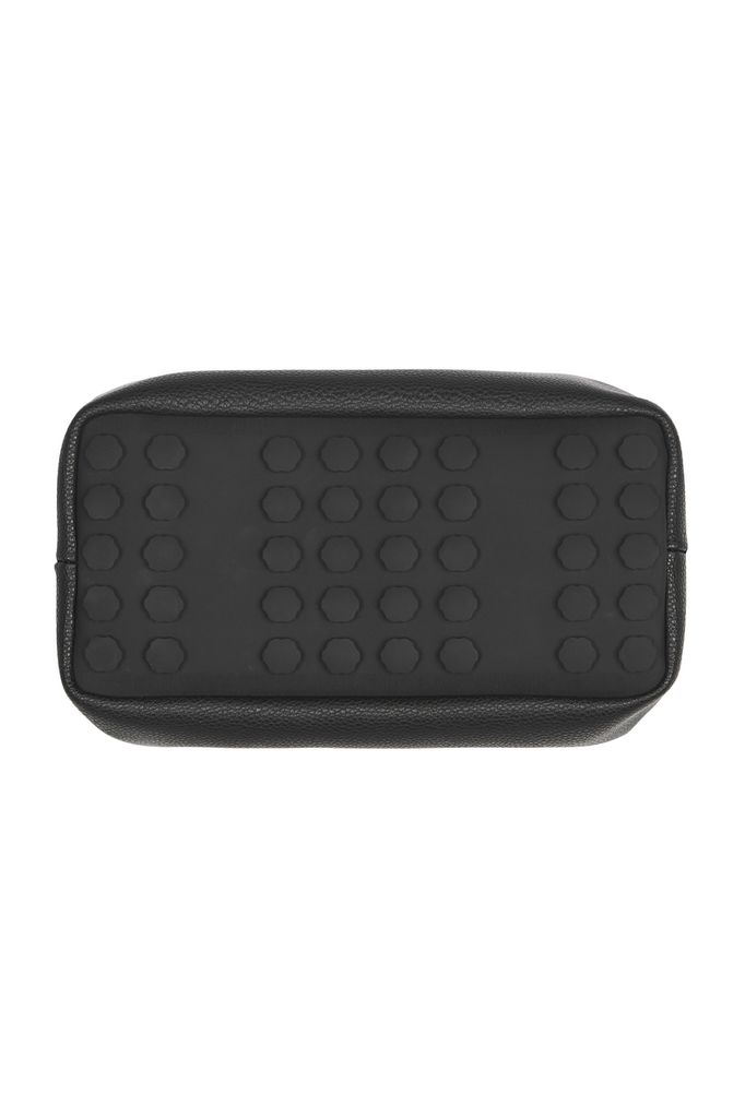 PAQME PAQME Cosmetic Case with Silicone Base - Leather - Blk