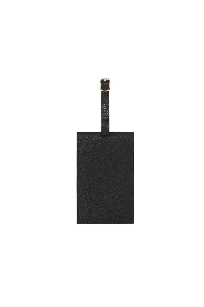 PAQME PAQME Luggage Tags - Leather - Blk