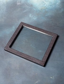 BECKER MINTY - Black Apricot - Glass Tray Lid (35x30x2cm) - Fits all Becker Minty Modular Jewellery and Accessory Trays