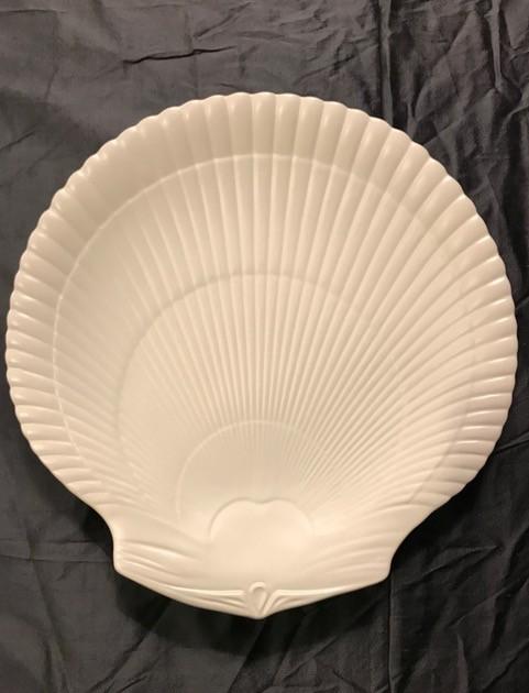 BECKER MINTY Vintage Wedgwood - Dinner plate - Moonstone (matte cream finish) - 28cm - UK c.1970