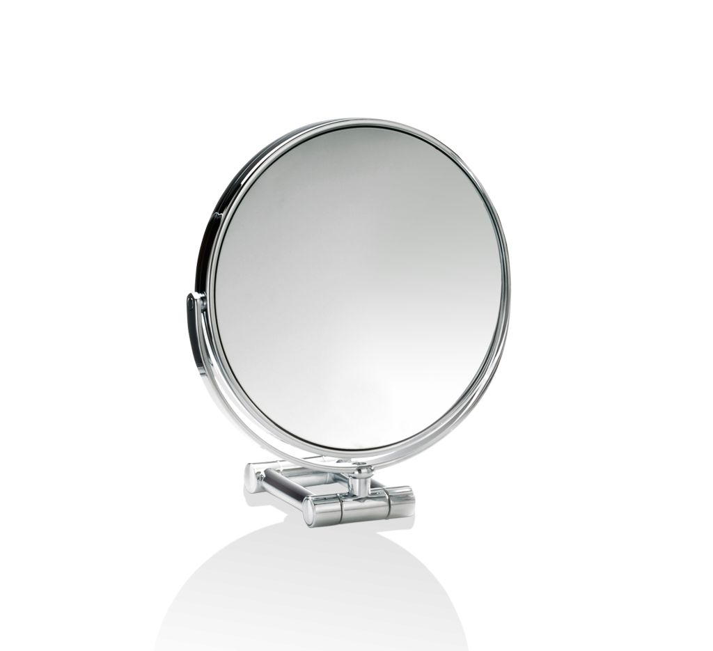 DW - Chrome Cosmetic Mirror -  5 x Magnification - Germany