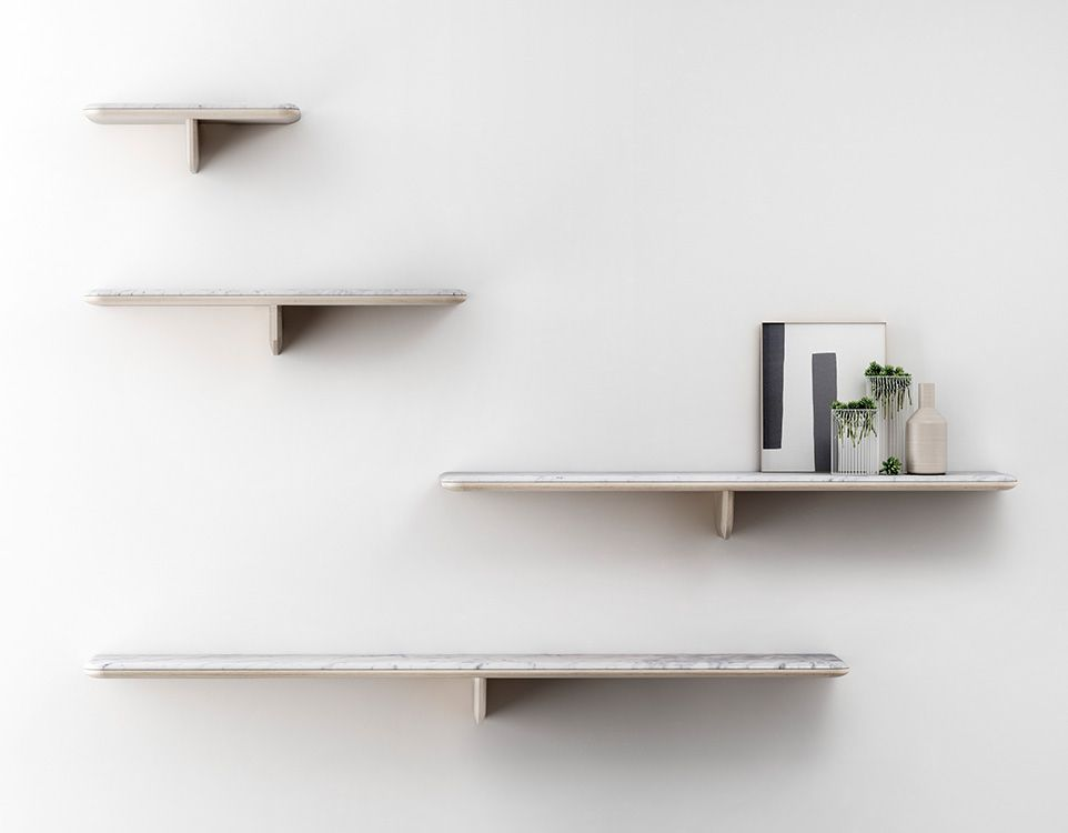 Retegui Marble - Egala Marble Shelf - Various Lengths and Colours available