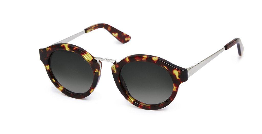 Nick Campbell Eyewear - Miki Sunglasses - Tortoise - Acetate Frame