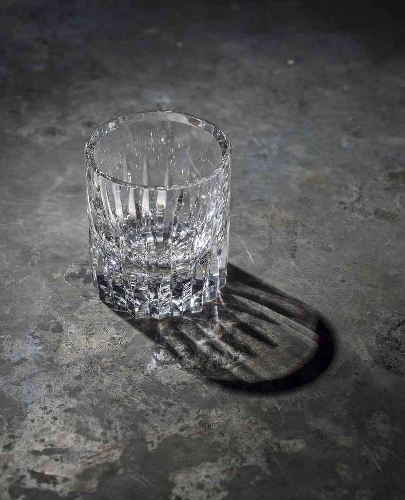 BECKER MINTY BECKER MINTY - Linear Cut Shot Glass - Clear Crystal Glass - 5x4.5cm
