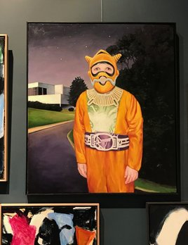 Nigel's Handmade Fireproof Re-entry Suit 2017 - James King - 110x96cm