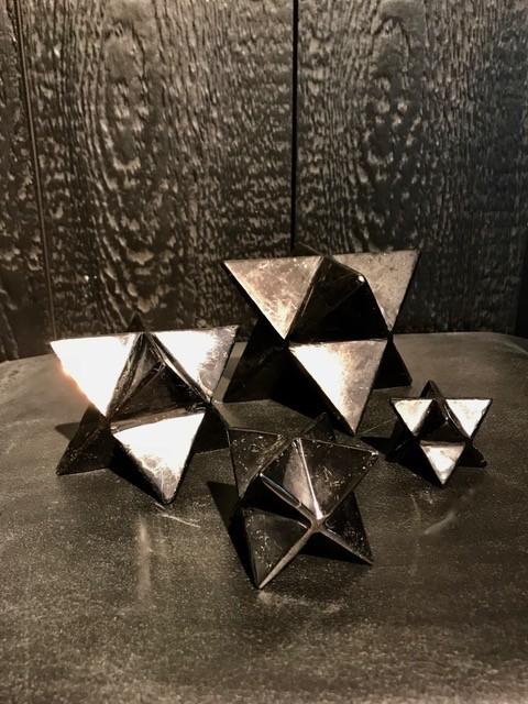 Small Shungite Merkaba - H3-4cm