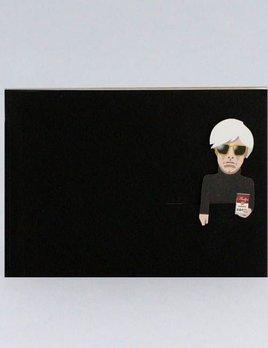 Noodoll Pocket Notebook Gold - Pop Artist