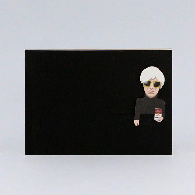 Noodoll Pocket Sketchbook Gold - Pop Artist