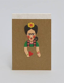 Noodoll Pocket Notebook - Folk  Artist C