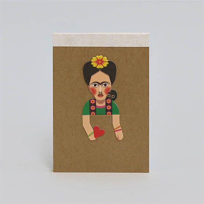 Noodoll Pocket Notebook - Folk  Artist C