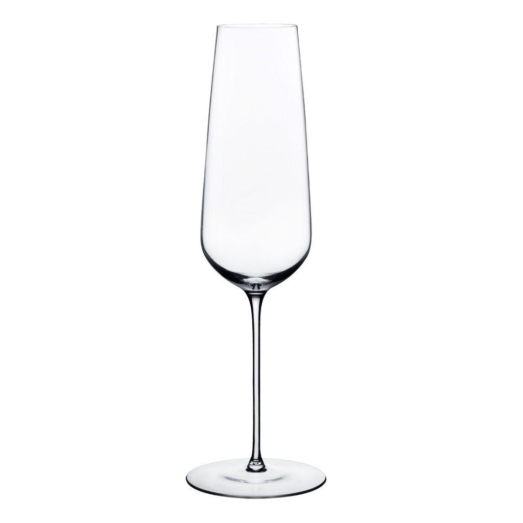 Nude Glass Elegant Champagne Glass / Flute - Set of 2