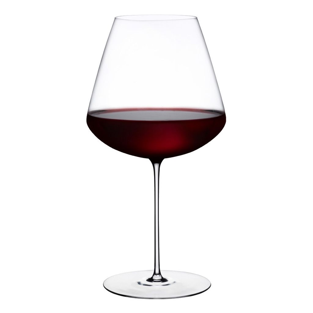 Nude Glass Elegant Red Wine Glass - Set of 2