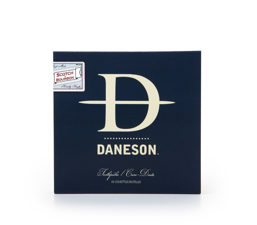 daneson Daneson Flavoured Tooth Picks - Combo 4 Pack - Single Malt and Bourbon