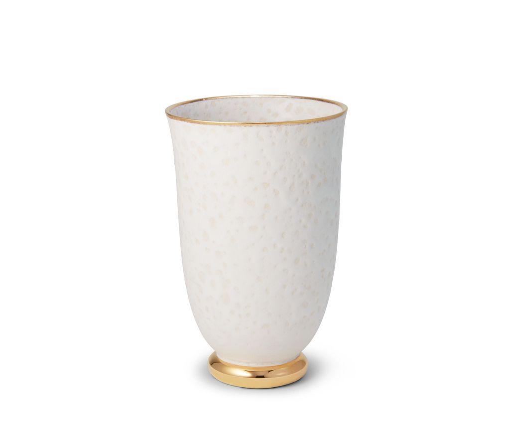 AERIN - Marion Tapered Vase - Ceramic - 22xc4cm