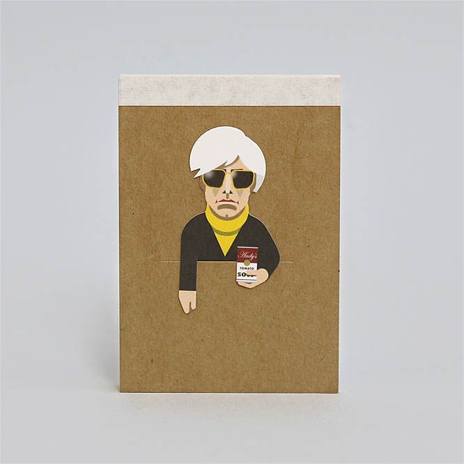 Noodoll Pocket Notebook - Pop Artist C