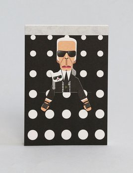 Noodoll Pocket Notebook - Fashion King