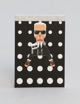 Noodoll Pocket Sketchbook - Fashion King