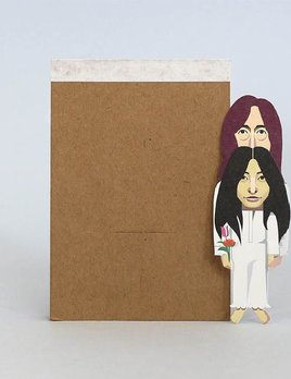 Noodoll Pocket Notebook - Peacemakers