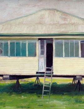 Queenslander - James King - Oil on Board - H15xW20cm (18x24cm framed) - 2018