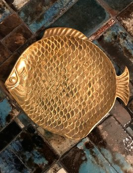B.M.V.A. Vintage Fish Dish - D20cm - c1970