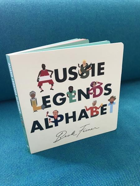 Beck Feiner Aussie Legends Alphabet Book  - by Beck Feiner