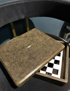 KIFU KIFU Paris - Chess Game Box in Shagreen