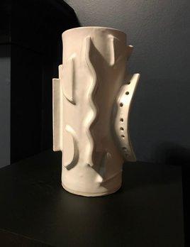 Natalie Rosin Vase 3 - Natalie Rosin - White Glazed Ceramic Vase - Australia