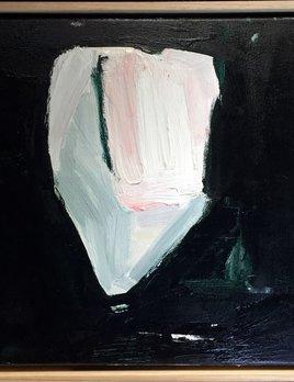 Walking Past Trees #1 - Acrylic on Canvas - Antonia Mrljak  - 41x41cm Oak Box Frame - 2018