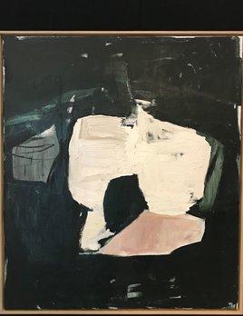 Walking Past Trees #7 - Acrylic on Canvas - Antonia Mrljak  - 97x112cm Oak Box Frame - 2018