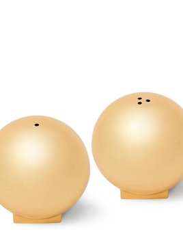 AERIN - Mattea Salt and Pepper Shakers - Brass