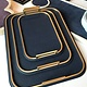 giobagnara Small Bellini Tray - Royal Blue  - 31.5x21.5cm - Giobagnara for Becker Minty - Made in Italy
