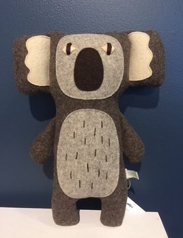 Carapau x Becker Minty - Koala - 100% Wool - 30cm - Handmade in Portugal
