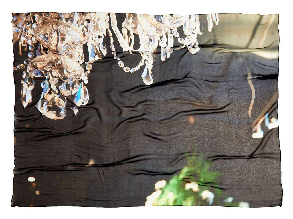 BECKER MINTY Mr.MINTY x GOOD&Co Scarf - #ChandelierLove - 100% Silk - 160x130cm