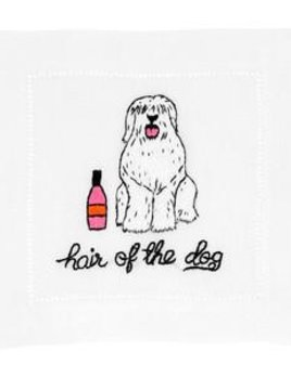 August Morgan Hair of the Dog - Holiday Cocktail Napkins - Set of Four