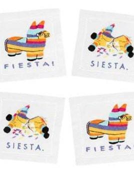 August Morgan Fiesta Siesta - Holiday Cocktail Napkins - Set of Four
