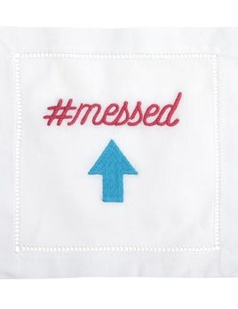 August Morgan #Messed Up - Holiday Cocktail Napkins - Set of Four