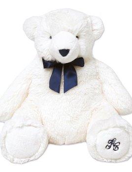 tartine et chocolate Tartine et Chocolat - Jean the White Bear - Ecru 30cm