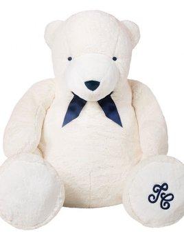 tartine et chocolate Tartine et Chocolat - Jean the White Bear - Ecru 110cm - Gift Box